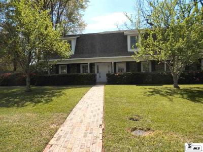 Monroe Single Family Home For Sale: 3011 Mills Lane
