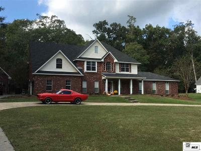 West Monroe Single Family Home For Sale: 515 Harrell Road
