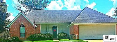 West Monroe Single Family Home For Sale: 321 Kendall Ridge Drive