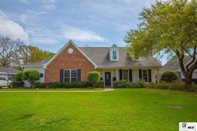 Monroe Single Family Home New Listing: 3900 Jefferson Davis Drive