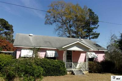 Lincoln Parish Single Family Home For Sale: 354 S Pine Tree Road