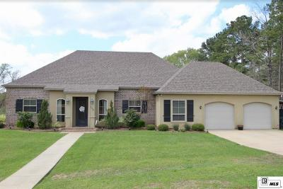 Choudrant Single Family Home Active-Pending: 179 Tes Drive