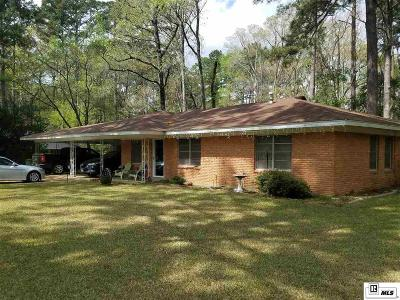 Ruston Single Family Home For Sale: 1308 Robinette Drive