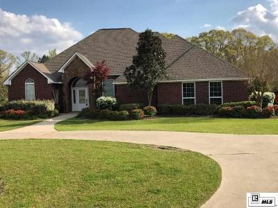 West Monroe Single Family Home For Sale: 3731 Caples Road