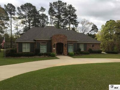 Ruston Single Family Home For Sale: 2800 Lovers Lane