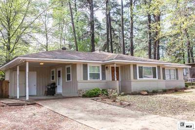 Lincoln Parish Single Family Home Active-Pending: 1205 Greenwood Drive