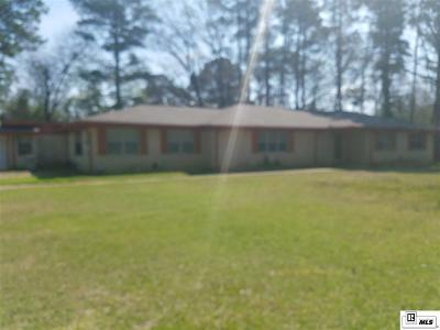 Grambling Single Family Home For Sale: 332 Stadium Drive