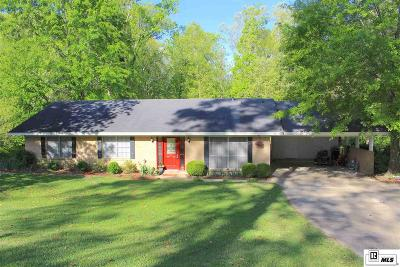 Lincoln Parish Single Family Home Active-Pending: 1502 Bistineau Street