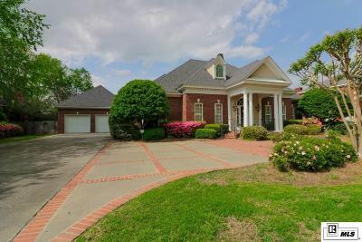 Monroe Single Family Home For Sale: 3721 Bayside Circle