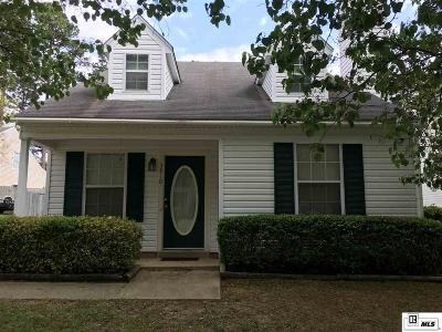 Lincoln Parish Single Family Home For Sale: 3910 Green Mountain Drive