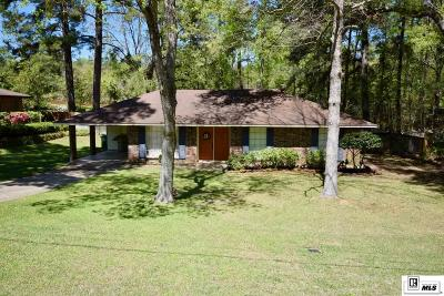Lincoln Parish Single Family Home Active-Pending: 1102 Greenwood Drive