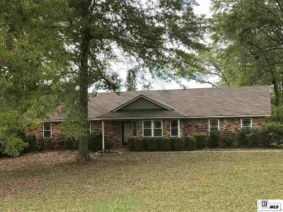 Lincoln Parish Single Family Home Active-Pending: 248 Wesley Drive
