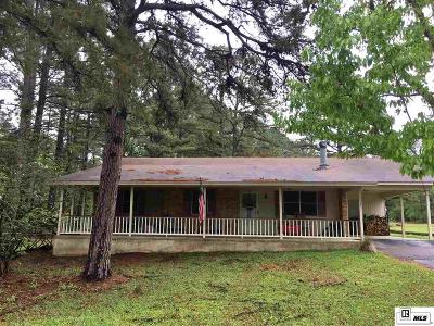 Lincoln Parish Single Family Home For Sale: 352 Walnut Creek Road