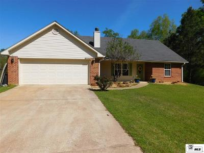 Lincoln Parish Single Family Home Active-Pending: 867 Woods Road