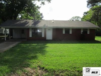Monroe Single Family Home For Sale: 309 Beasley Street