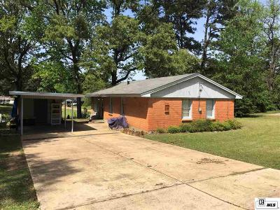 West Monroe Single Family Home For Sale: 119 Bradley Drive