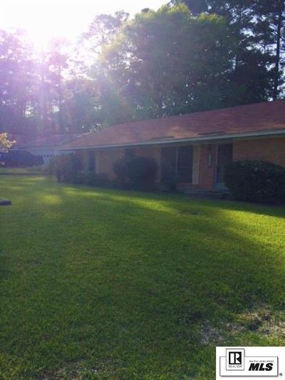 Lincoln Parish Single Family Home For Sale: 1502 Yale Drive