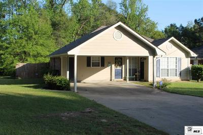 West Monroe Single Family Home For Sale: 3020 N 12th Street