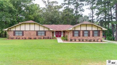 West Monroe Single Family Home New Listing: 225 Stan Wall Road