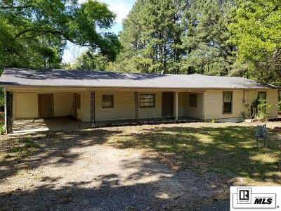 West Monroe Single Family Home Pending Continue To Show: 159 Newell Johnson Road