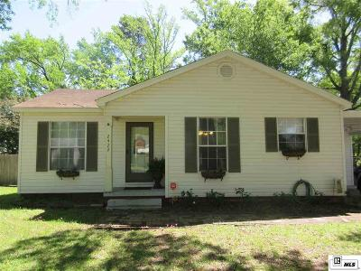 West Monroe Single Family Home New Listing: 2422 N 8th Street