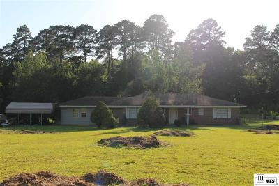 Ruston Single Family Home For Sale: 1700 Tech Farm Road