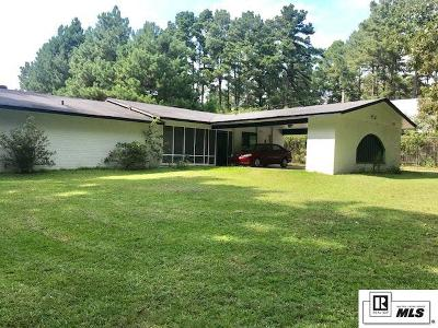 West Monroe Single Family Home New Listing: 735 Johnson Road