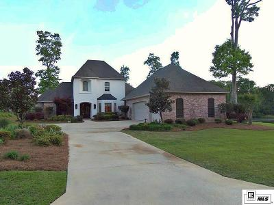 West Monroe Single Family Home New Listing: 479 Fiddlers Creek Drive