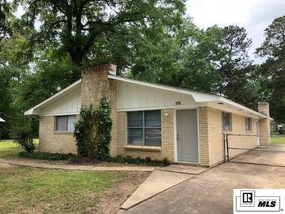 West Monroe Single Family Home New Listing: 118 Grayson Street