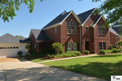West Monroe Single Family Home New Listing: 412 Lake Front Drive
