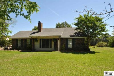 West Monroe Single Family Home New Listing: 575 Red Cut Loop Road