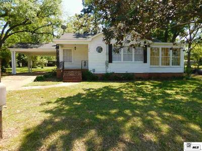 Dubach Single Family Home New Listing: 188 Seth Street