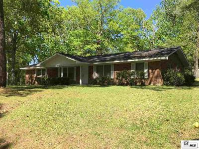 Lincoln Parish Single Family Home New Listing: 1601 Saint John Road