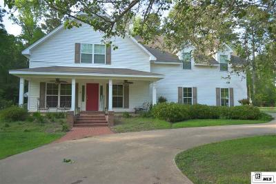 West Monroe Single Family Home For Sale: 162 Duchesne Lane