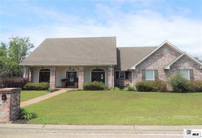 West Monroe Single Family Home For Sale: 210 Parkwood Boulevard