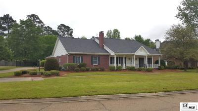 Ruston Single Family Home For Sale: 3409 English Turn