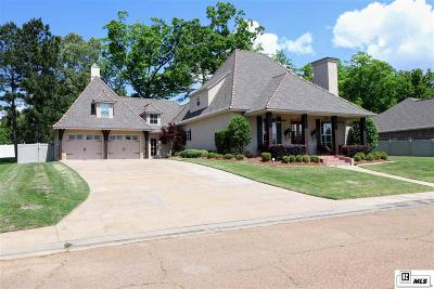 West Monroe Single Family Home For Sale: 102 Rue Chapelle