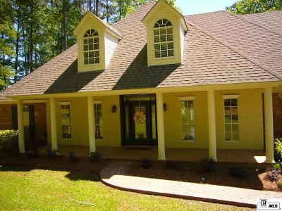 West Monroe Single Family Home For Sale: 128 Eagle Lake Drive