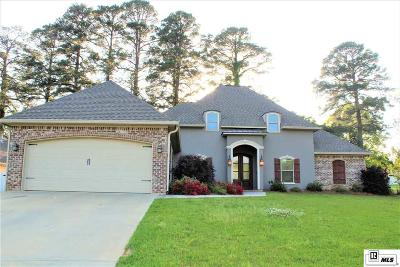 West Monroe Single Family Home For Sale: 109 Lost Lakes Drive