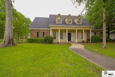 Monroe Single Family Home For Sale: 1552 Frenchmans Bend Road