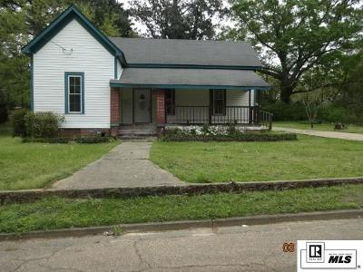 Lincoln Parish Single Family Home Active-Pending: 107 S Hazel Street