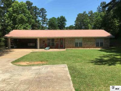 Dubach Single Family Home For Sale: 870 Pea Ridge Road