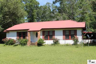 Jackson Parish Single Family Home For Sale: 1312 N Antioch Road