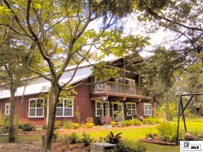 West Monroe Single Family Home For Sale: 238 E Puckett Lake Road