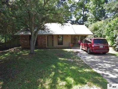 West Monroe Single Family Home For Sale: 232 Hillside Circle