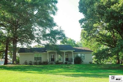 Choudrant Single Family Home For Sale: 257 Roach Road