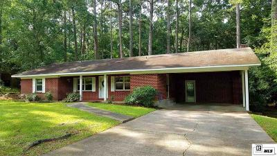 Ruston Single Family Home Active-Pending: 2305 Cypress Springs Ave