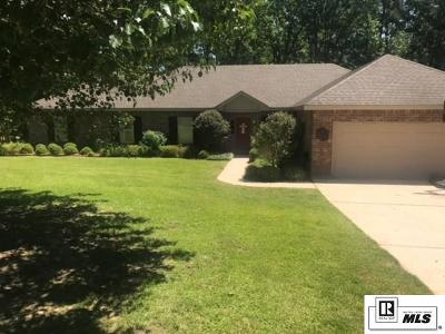 Ruston LA Single Family Home For Sale: $297,500