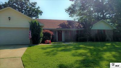 West Monroe Single Family Home For Sale: 218 Chantilly Drive