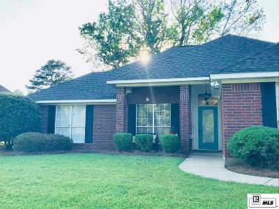 West Monroe Single Family Home Pending Continue To Show: 119 Heritage Drive
